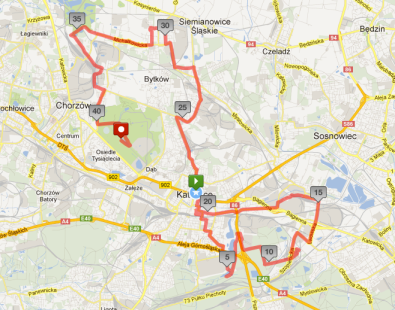 2013 _Trasa V. Silesia Marathon