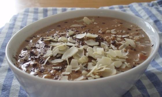 comfort food czekoladowa owsianka