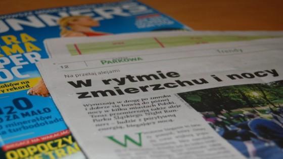 gazeta parkowa