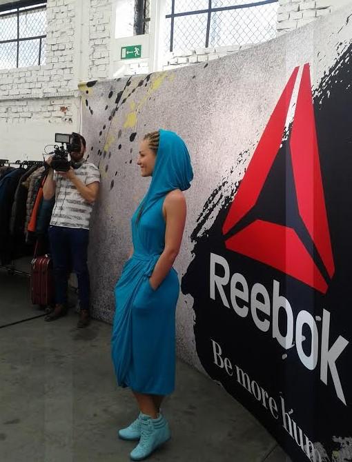 Marika na premierze Reebok