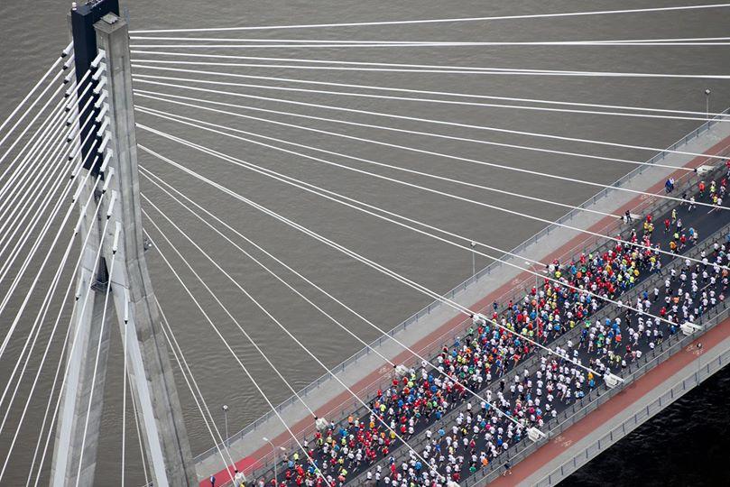 na moście Orlen Marathon