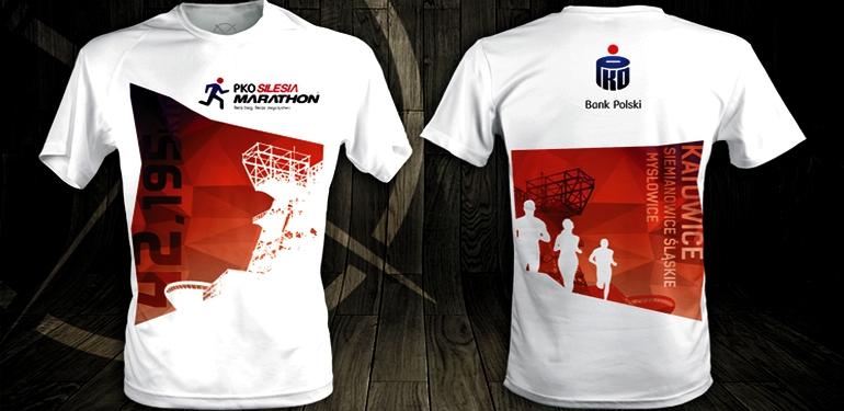 Oficjalna koszulka Silesia Marathon
