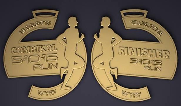 Combikol 5 10 15 medal
