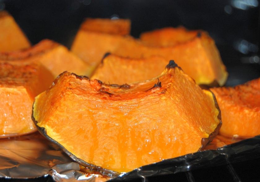 pieczona dynia - podstawowy składnik