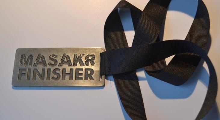 medal dla osób, które ukończyły 63 km