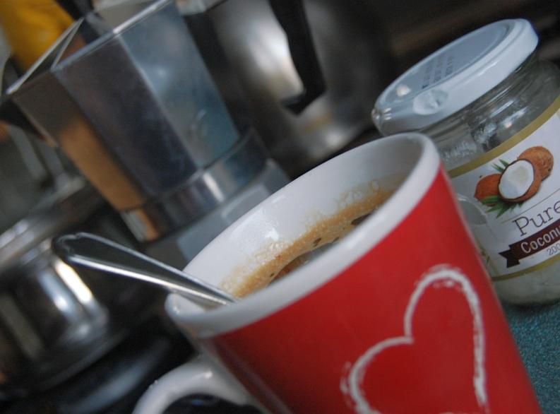 lubię zacząć dzień od kawy