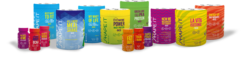 suplementy diety, odżywki białkowe, dietetyczne batony - wszystko dla aktywnych kobiet