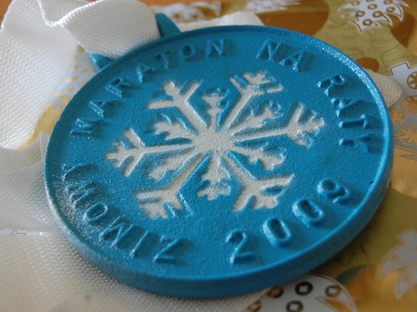 Edycja 2009 - najcięższy medal w całej mojej kolekcji