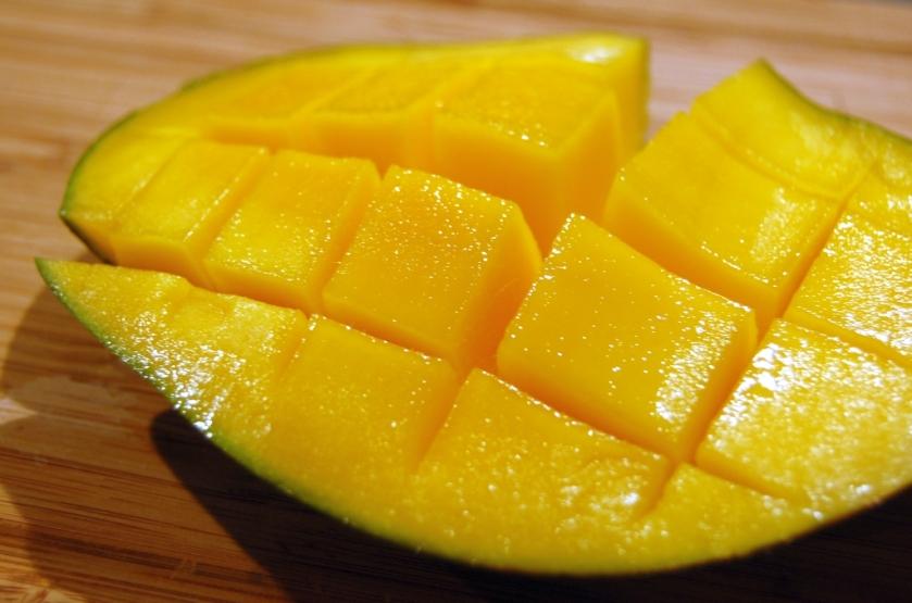 jeżyk z mango