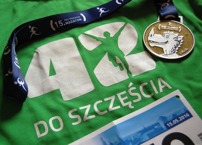 Cracovia Maraton medal