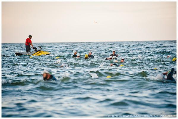 waraw triathlon trening pływacki