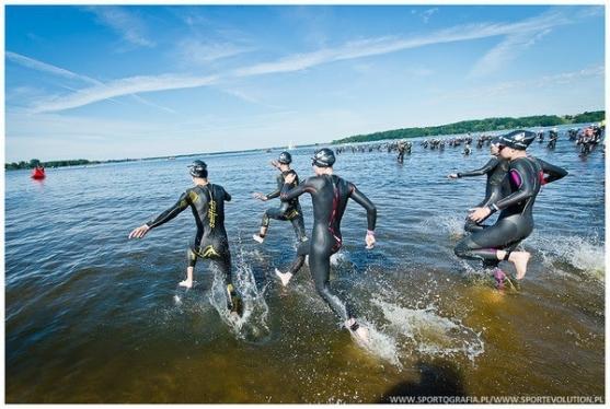 5150 Warsaw triathlon pływanie