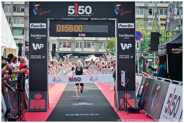 5150 Warsaw Triathlon zwyciezca