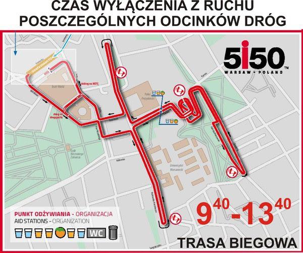 triatlon warszawa utrudnienia w ruchu i zamkniete ulice