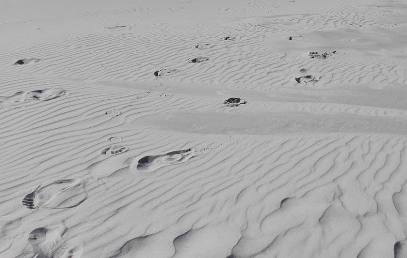 bieg w miękkim piasku