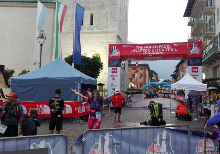 Corso Italia - meta Cortina Trail