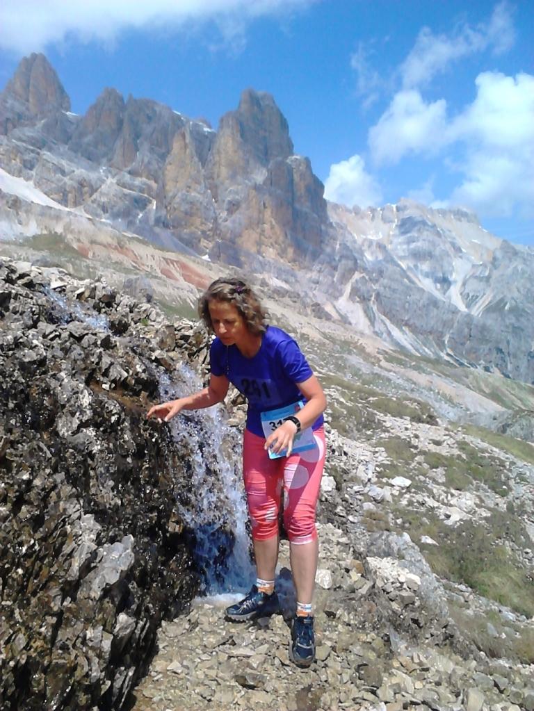 naturalny punkt odzywczy - Cortina Trail