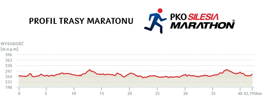 silesia marathon profil trasy